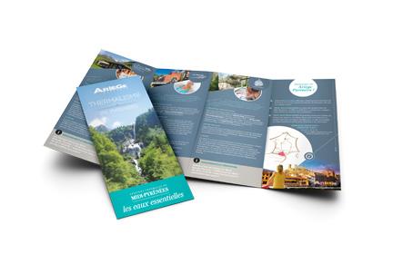 Agence de développement touristique de l'Ariège : dépliant thermalisme